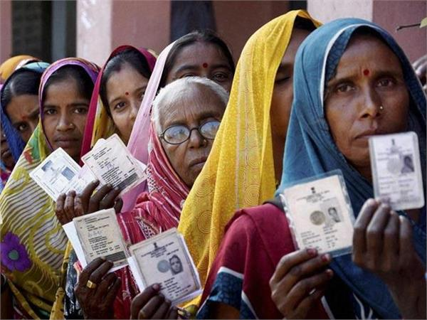 woman voting percentage increases