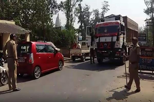 administration alert on lok sabha elections