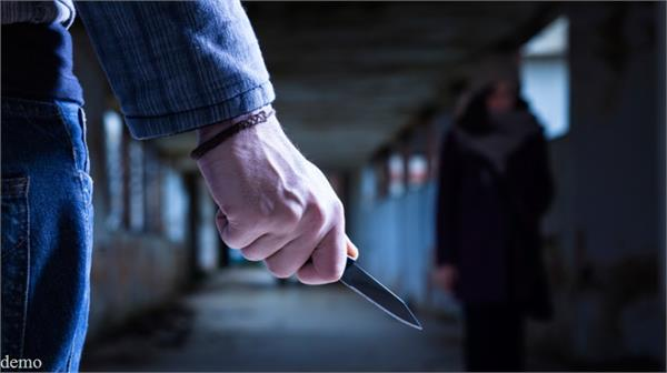 suspended police constable attacked knife