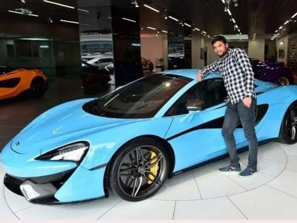 indian worker wins mclaren 570s spyder worth 2 crores in dubai