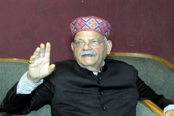 sukhram becomes chanakya of politics due to reversal