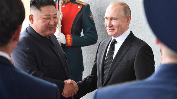 putin tells kim wants to support positive efforts on korean peninsula