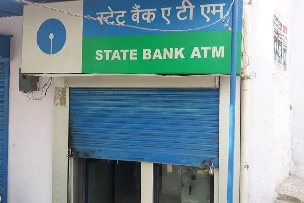 robbery of 21 lacs cash from sbi atm in sonipat