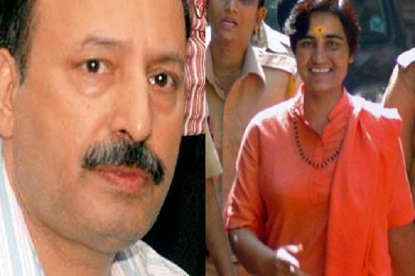 sadhvi pragya who spoke on the martyrdom of ats chief hemant karkare