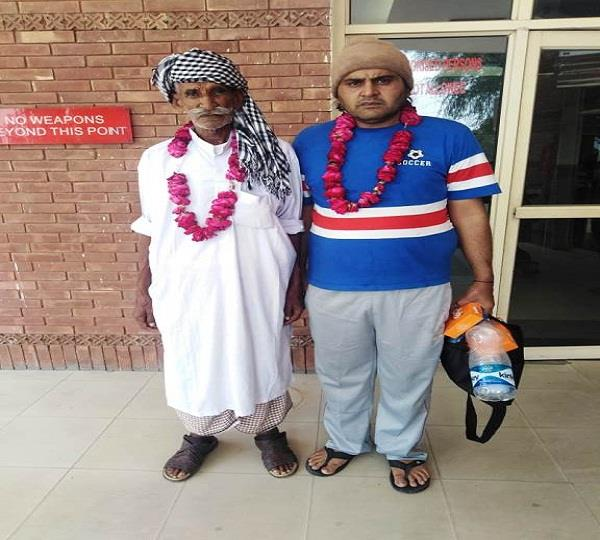 2 prisoners of pakistan released