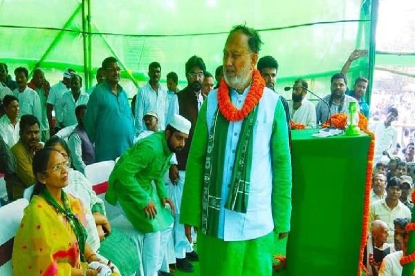 disputed statement of rjd leader