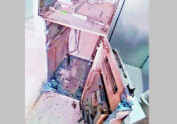 17 lakhs robbery from atm