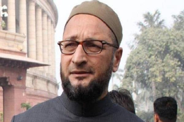 owaisi s pm modi question will the accused of terror be campaigned for sadhvi