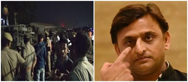 akhilesh expresses sadness over the purba express incident