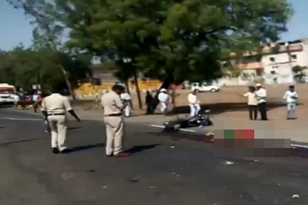 bike and magic collide with unidentified truck killing 3