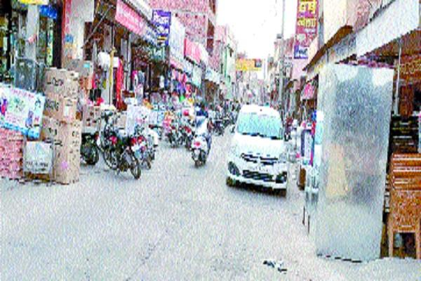 roads of adampur shrinking from encroachment