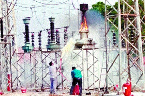sudden fire in the power house accident crash