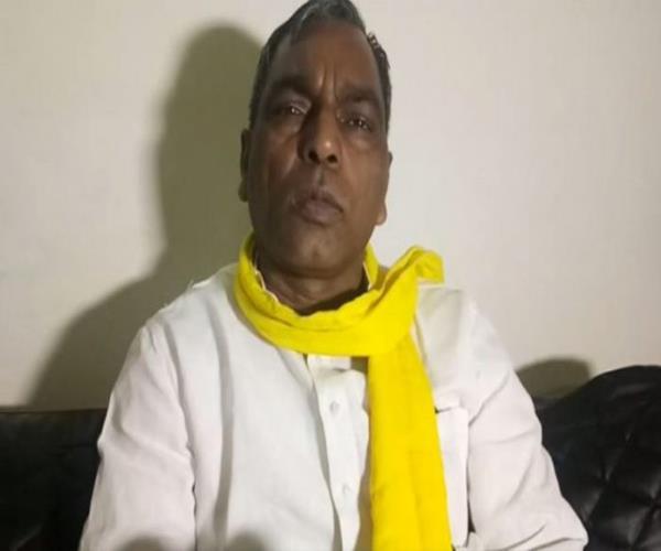 bjp is raising candidates from the organization to weaken subhashpa rajbhar