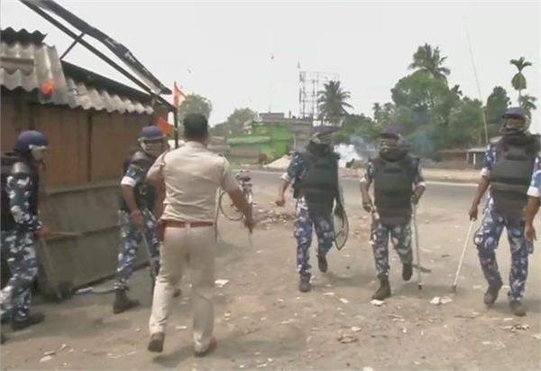 lok sabha elections violence during voting in bengal