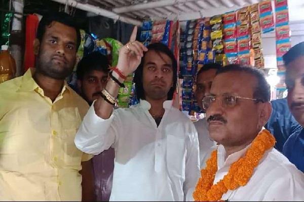 tej pratap again rebelled against party