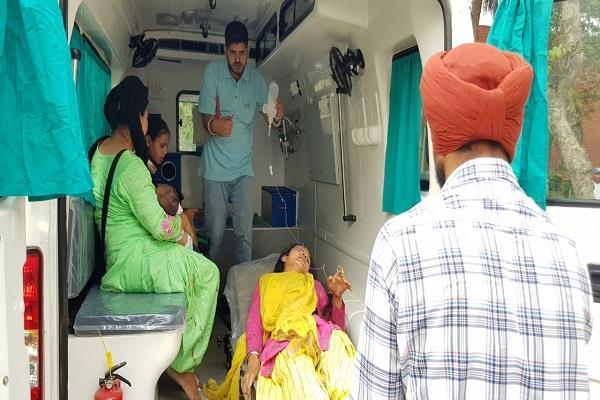 amritsar bathinda national highway raod accident in 3 dead
