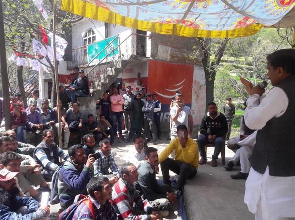 doda kishtwar is neglected place said harshdev singh