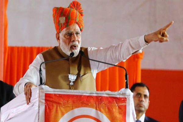 pm modi target to rahul gandhi at maharashtra rally