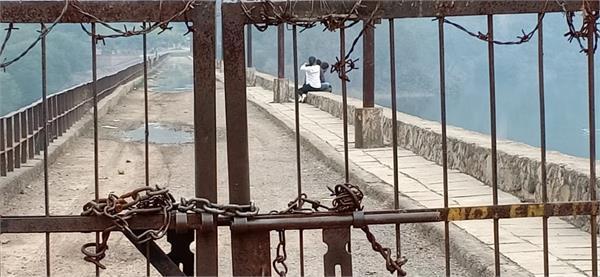 despite the ban siswan entering dam