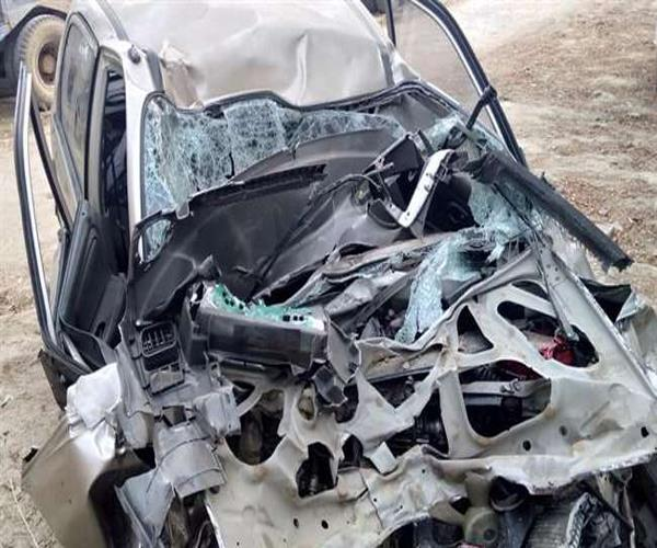 four people died in road accident in fatehpur
