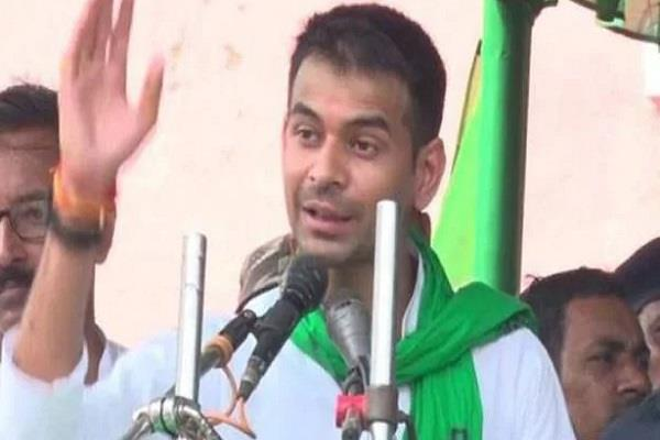 tej pratap will present a roadshow for his favorite candidate in shivhar