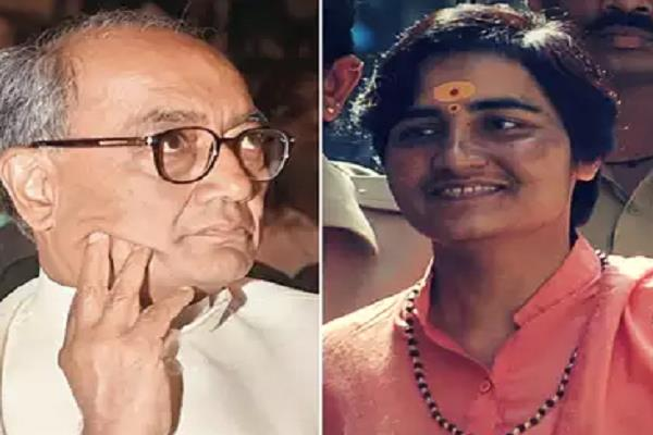 bjp can give ticket against sadhvi pragya digvijay to meet shivraj