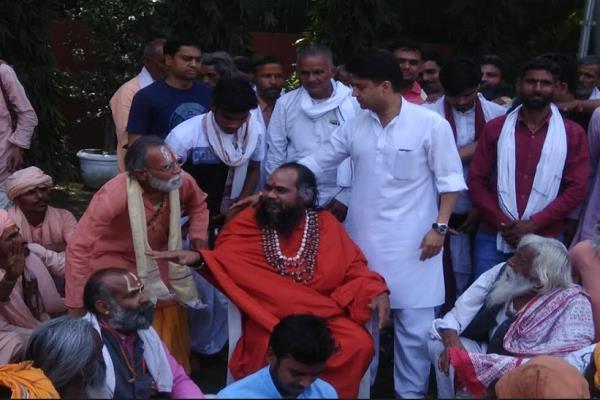 lok sabha elections saints rebel leave ashrams and challenge them to bjp