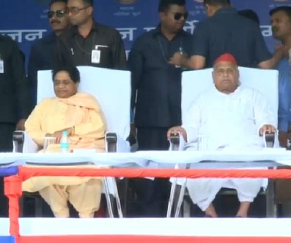 glad that mayawati ji is with us today mulayam singh