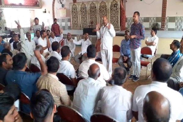 saini society expresses its right to the kurukshetra lok sabha seat