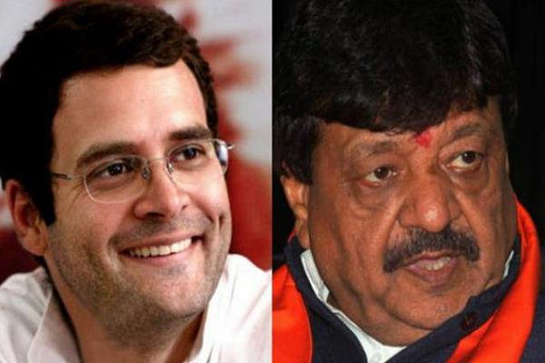 vijayvargiy s attack on rahul idiots from both words and wisdom