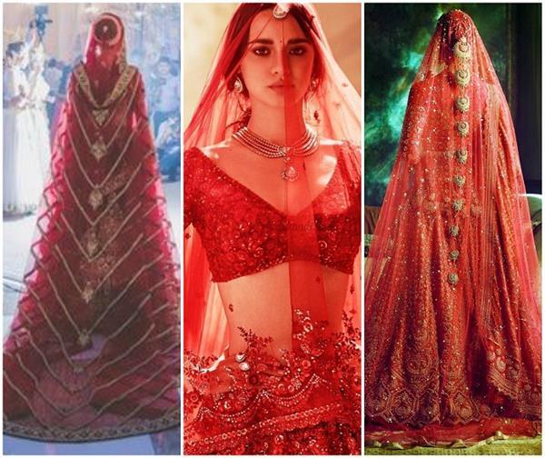 Fashion: ब्राइडल लहंगे के साथ ट्राई करें ये 12 Red Dupattas