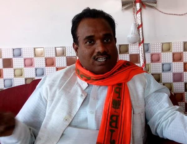 viral video of bjp leader telling
