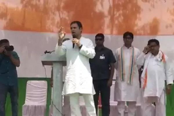 rahul gandhi in barabanki says rahul