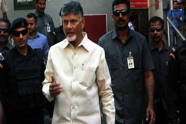 chandrababu naidu blame on election commission