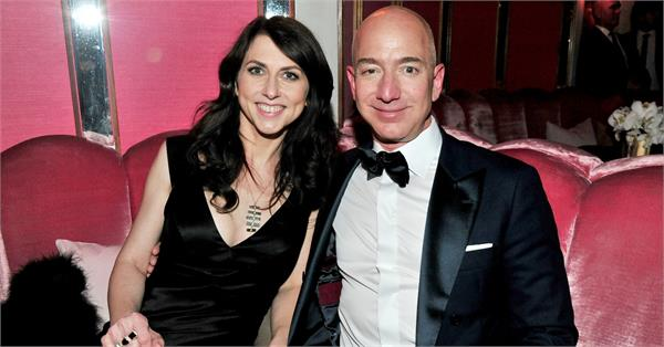 amazon founder jeff bezos wife reach biggest divorce deal