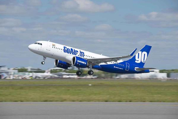 due to technical flaws aircraft coming to goair s delhi was landed in nagpur