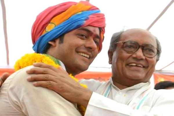 digvijay s son jaywardhan singh claims to win the historic
