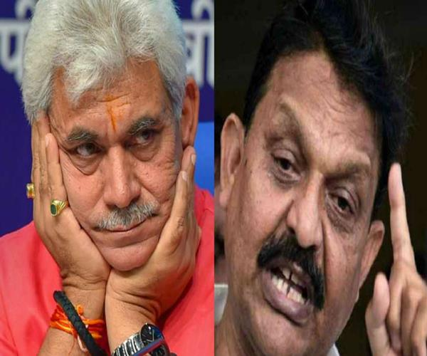 manoj sinha will once again challenge afzal in electoral battlefield