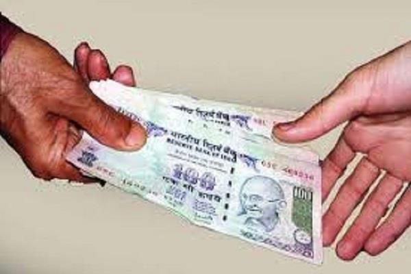 asi take control of bribe of 3 thousand rupees