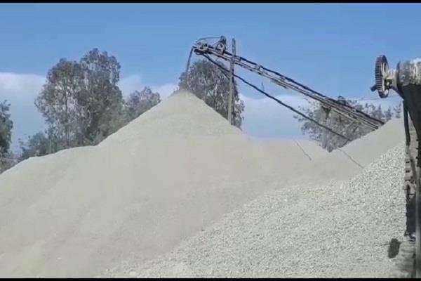 if illegal mining not be stopped can damage tajewala laltopi dam