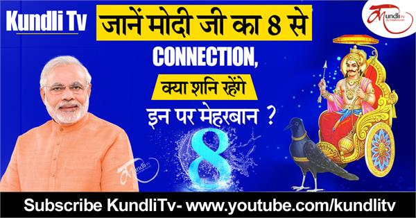 what is connection of shani and modi