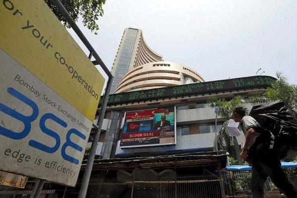 closed on the green mark sensex 160 strong