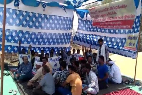 lok sabha poll boycott by farmer in jabalpur