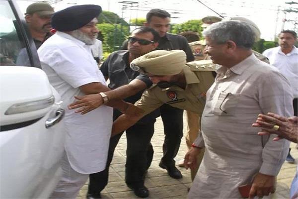 dsp transferred to sukhbir badal feet
