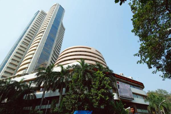 sensex closes with a gain of 164 points