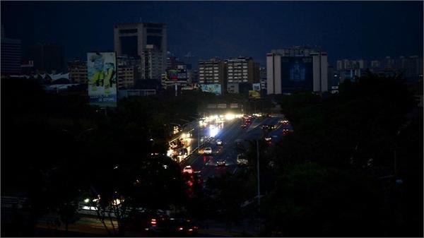 venezuela  country blackout drags continue