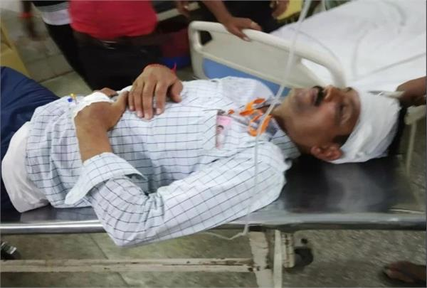 picketing officer injured after falling ceiling fan during polling
