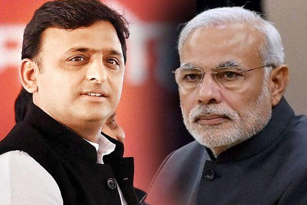a direct contest between sp and bjp