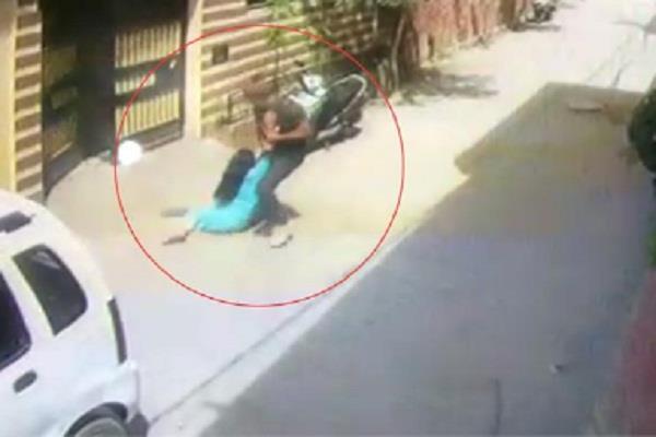 wife beaten by husband