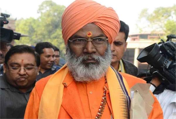 because of the disputed statement sakshi maharaj
